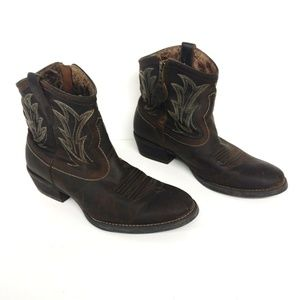 Ariat Shoes - Ariat Billy Sassy Side Zip Cowboy Boot Size 8.5